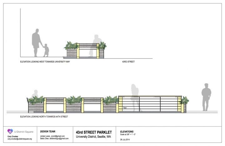 U District Parklet v3 Elevations 1