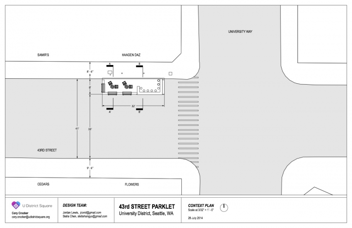 U District Parklet v3 Context Plan