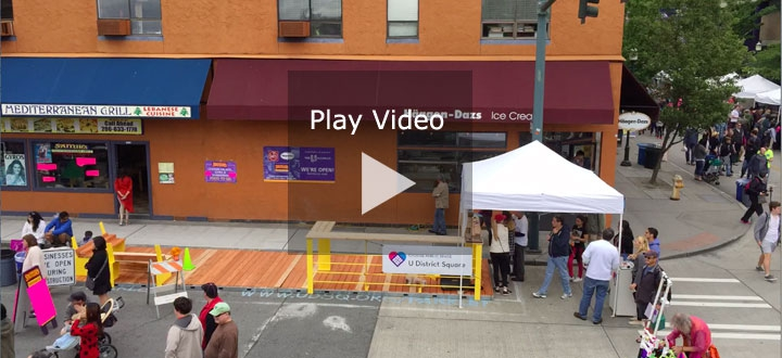 Time Lapse of Parklet Construction