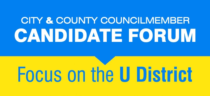 City & County Councilmember Candidate Forum